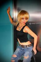 Aya Brea Cosplay 2 by CyanicOrange