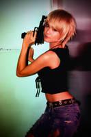 Aya Brea Cosplay 3 by CyanicOrange