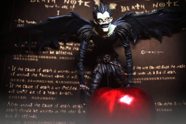 Death God: Ryuk by CyanicOrange