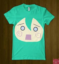 Hachune Miku T-shirt by CyanicOrange