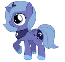 Luna filly remake by TheKisame