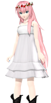 Project Diva Arcade Future Tone Chiffon Dress Luka by WeFede