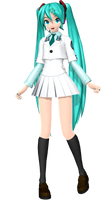 Project Diva Arcade Future Tone School Miku by WeFede