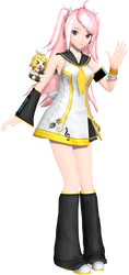 ProjectDiva Arcade Future Tone Rin-Chan Squad Luka by WeFede