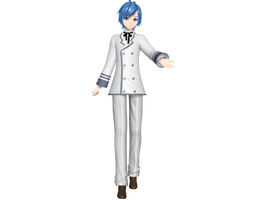 Project Diva Arcade Future Tone White Balzer Kaito by WeFede