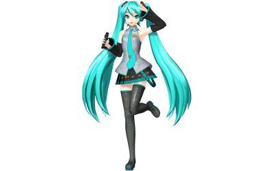 Future Tone Default Miku by WeFede