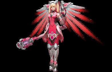 Mercy Pink Skin by WeFede
