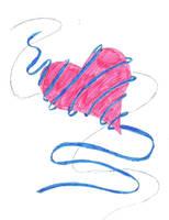 Ribbon Heart by Boo-Bottle