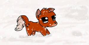 Winter Fox by Boo-Bottle
