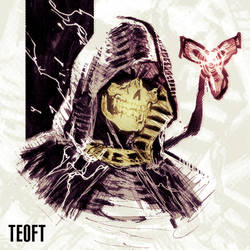 Sketch: The Man With The Golden Mask by Teoft