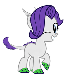 Young Silver Spirit by PurpleWonderPower