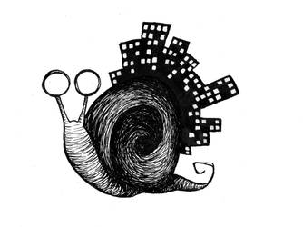 Gary the Snail by fallsomnia
