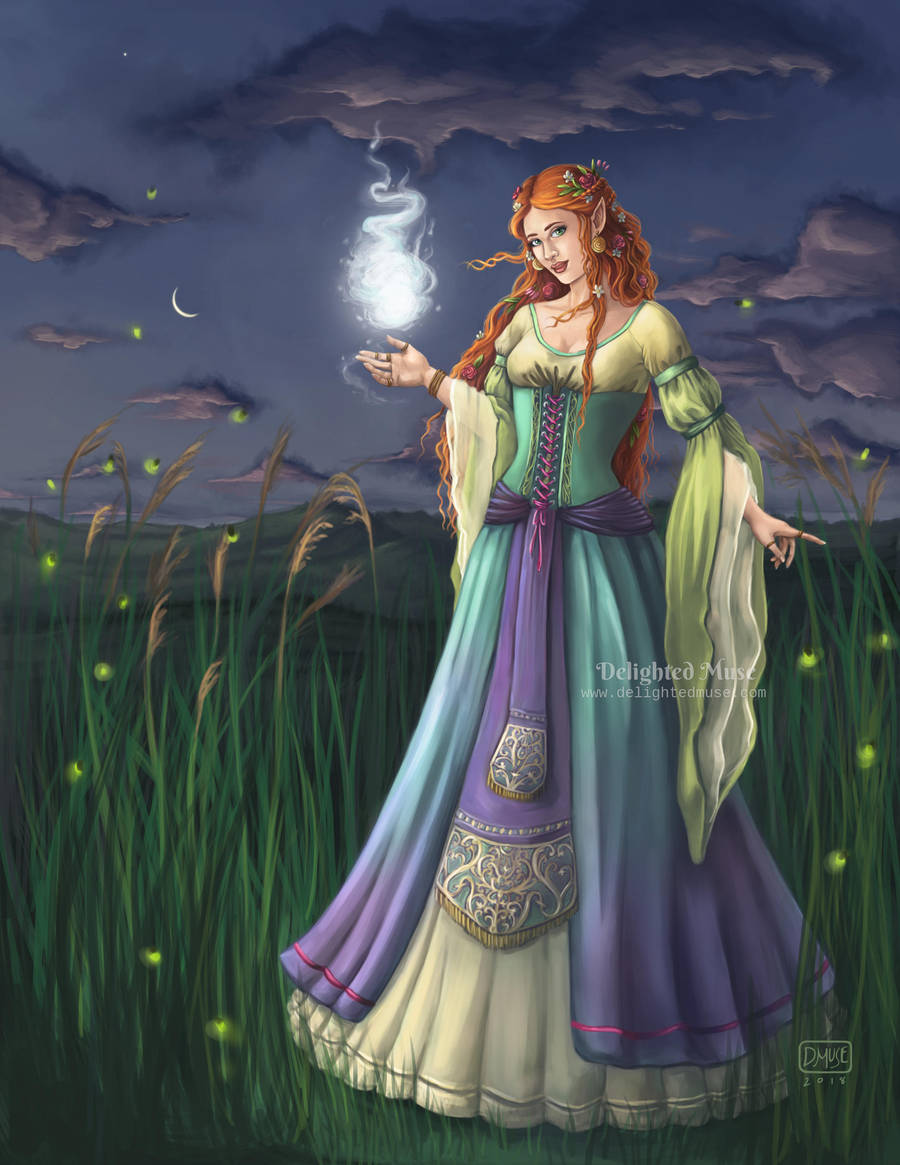 The Sorceress of Eventide by delightedmuse
