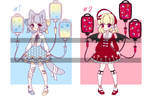 IV babes [Auction OPEN] by Liliorl