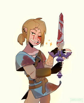 I'm addicted to this game - LOZ BOTW by narkissa03