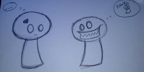 doodle by hikaru-riku