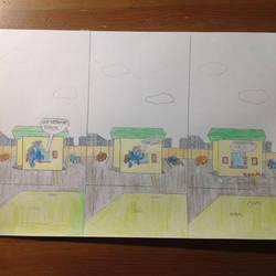 Drive-Thru (Comic) by rainbows2424