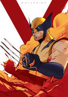 Wolverine Fan-Art Cover-01 by ludocreator
