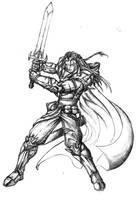 Warrior by junyap