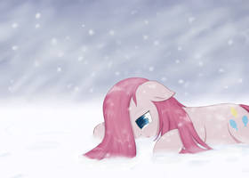 Request - Sad Pinkie in the Snow by Muffinsforever