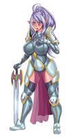 elf knight color version 1 by nexgen69