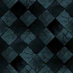 Blue Floor Tiles Texture by Deity37