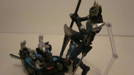 Figma Kamen Rider Knight 11 by GardusKnight