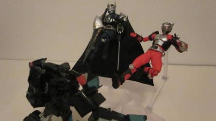Figma Kamen Rider Knight 13 by GardusKnight
