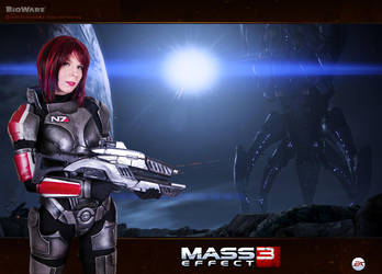 Mass Effect N7 cosplay by YurikoSeira
