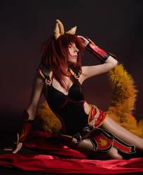 Foxfire Ahri by YurikoSeira