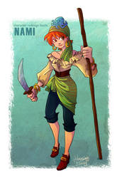 Nami Redesigned by HanieMohd