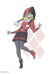 Harley Quinn in a Sweater by HanieMohd