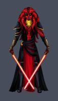 Darth Anialus by Master-Weilar-Tarren