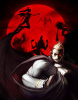 Darkstalkers Tribute REJECT by Noe-Leyva