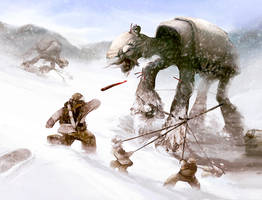 Battle of Hoth inspired by Noe-Leyva