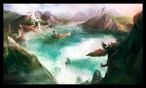 Parafalls by Noe-Leyva