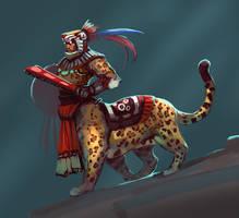 Jaguar Warrior by Noe-Leyva