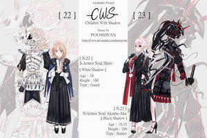 CWS : Children With Shadow: Set 6 Auction [ OPEN ] by poosuwan