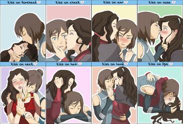 TLoK - Kiss meme by doodlemederp