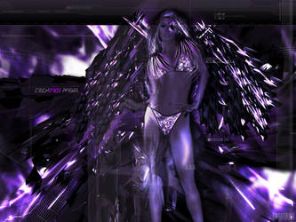 Techno angel by gloaded