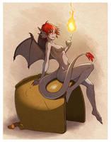 Fire Pixie by pomchan