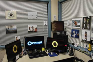Aperture Laboratories IT Dept. by ChrisInVT