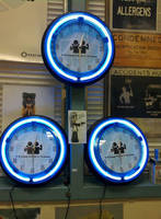 Trusted Friend In Science Neon Clocks by ChrisInVT