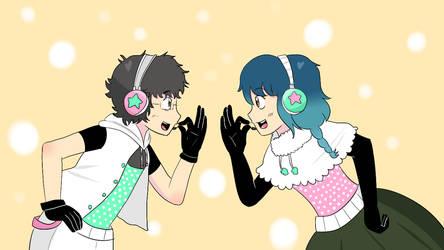 Happy Synthesizer Nami Dylan by animetomodachi