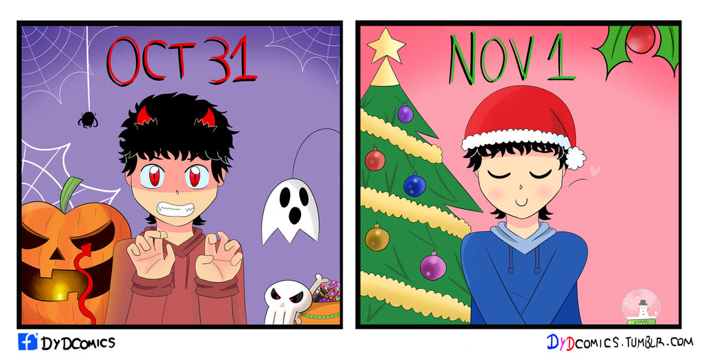 Holiday Mood - DyDComics by animetomodachi
