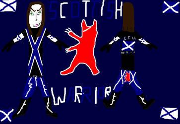 The Scottish Warrior's 2nd Alternate Costume by Moltenman1997