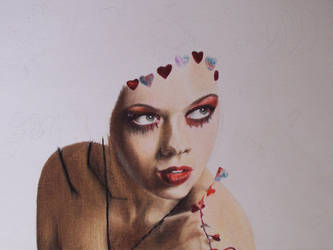 Queen of Hearts WIP II by glen-bramlitt