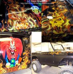 'Dangerous Toys' Ford Bronco by glen-bramlitt