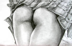 THE BEST ASS ON THE EARTH by Speed Drawing Italia by Speeddrawingitalia