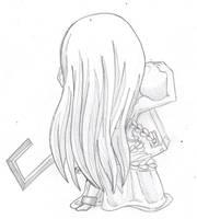 Chibi Wabisuke by MonsterWithoutaName